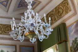 Achtzehnten Jahrhunderts Kronleuchter in venetische Villa in Verona