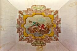 Verziert Decke es achtzehnten Jahrhunderts venetische Villa