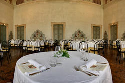 essen in venetischen Villa in verona, perez pompei sagramoso