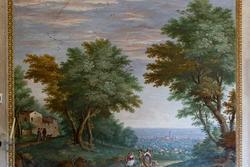 a picture of the eighteenth century in Venetian villa in Verona