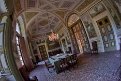 Sala da pranzo a villa Perez Sagramoso