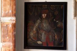 quadro settecentesco in villa veneta