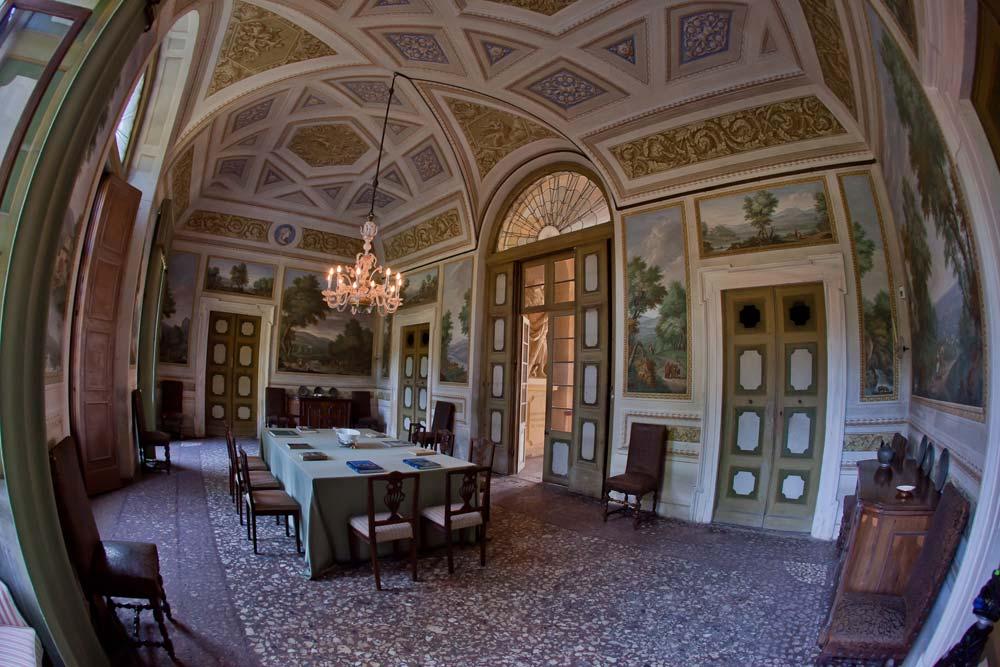 Villa perez pompei sagramoso ville venete for Interni ville